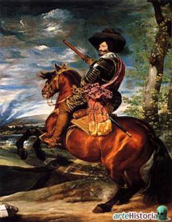Retrato ecuestre del Conde-Duque de Olivares